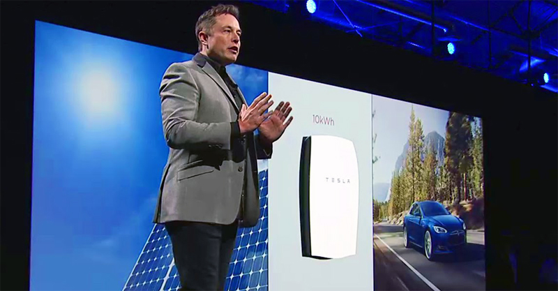 Elon Musk – The Powerwall | Tesla Home Battery