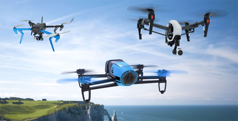 The Small UAV/Drone Revolution