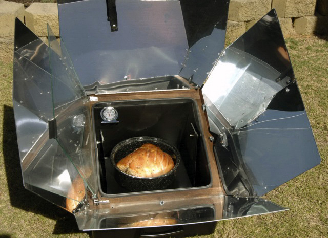 A solar oven