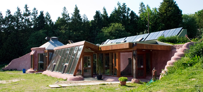 Brighton Earthship, UK